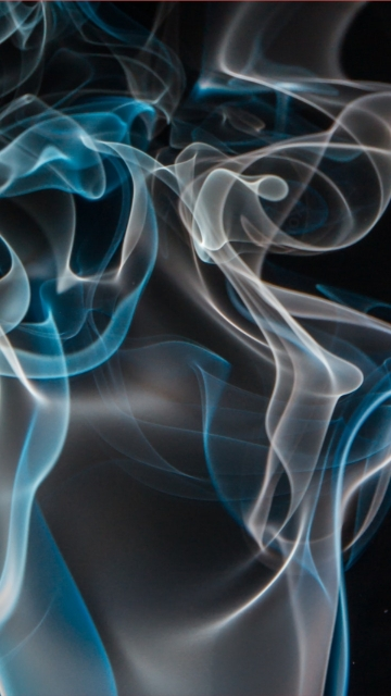 Blue And White Smoke Hd Picture
