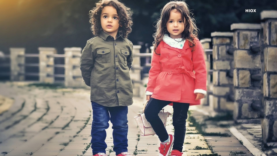 Hd Photo Of Little Boy And Girl