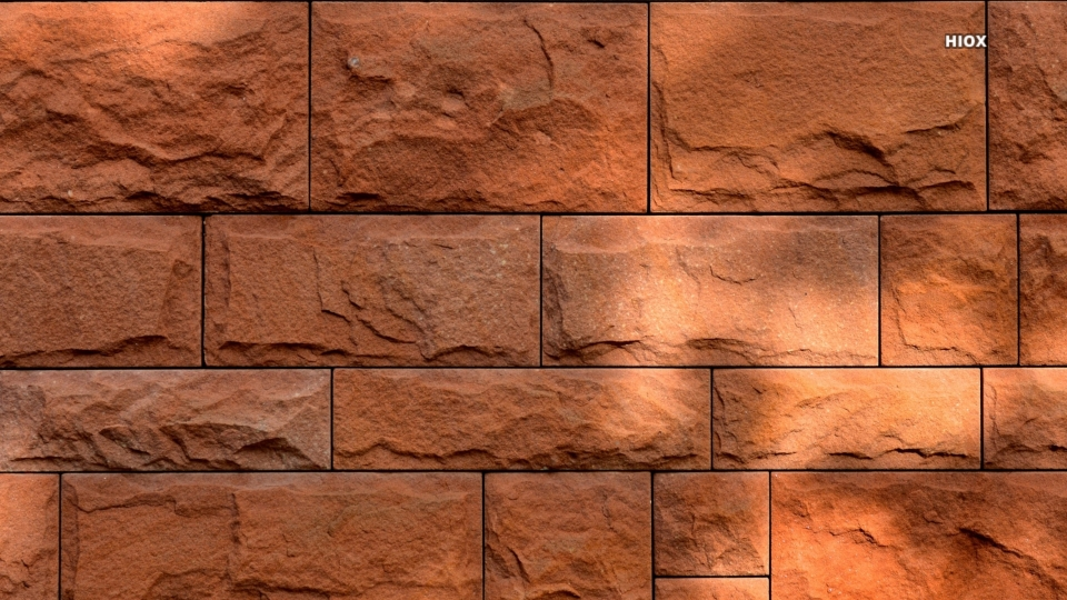 Red Stone Wall HD Images