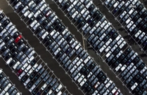 Aerial Photography Of Parking Lot HD