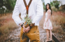 Man Giving Flowers To Woman Hd Photo