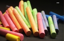 Beautiful Colored Chalks HD Picture