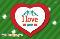 I Love You HD Photos, Wallpaper Images