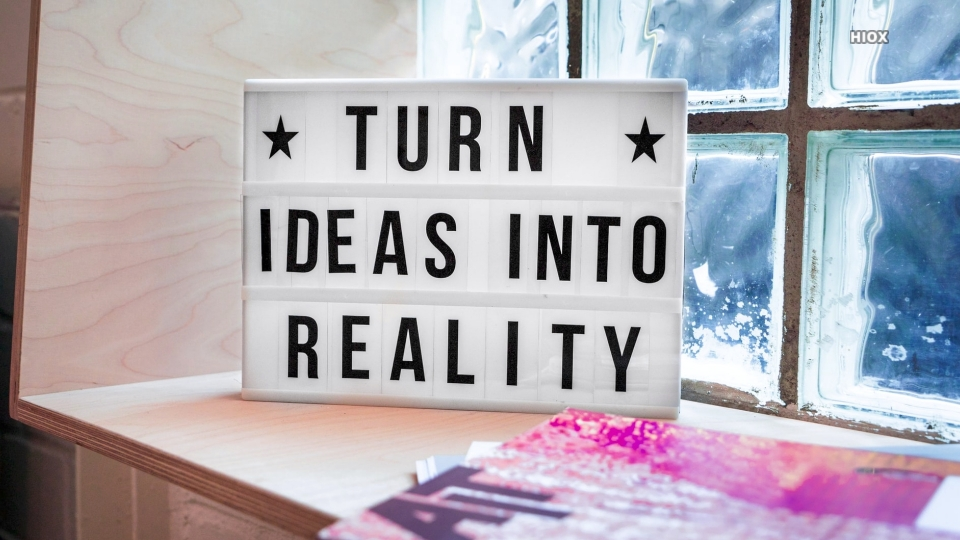 Turn Ideas Into Reality Hd Quote Image