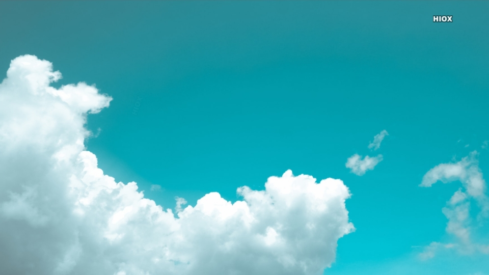 White Clouds Under Blue Sky Hd Picture